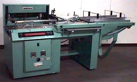 """Weldotron 5874, AUTOMATIC IN LINE L-SEALER 27"""" long x 19"""" wide x 4"""" high."""
