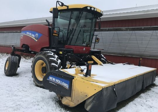 New Holland Windrower