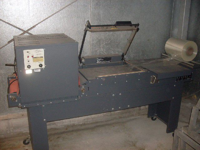 Allied Automation Corp. L Bar Sealer and Shrink Tunnel