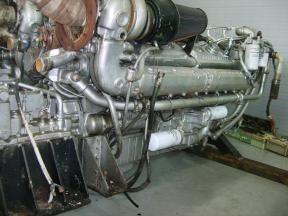 3 Detroit 16V92TA Marine Engine