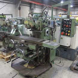 Supermax YCM-2H milling machine - ISO 40. vertical Variable