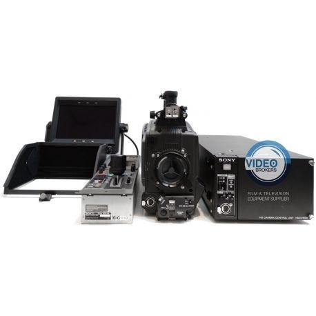 Sony HDC-1500 HD studio fiber camera