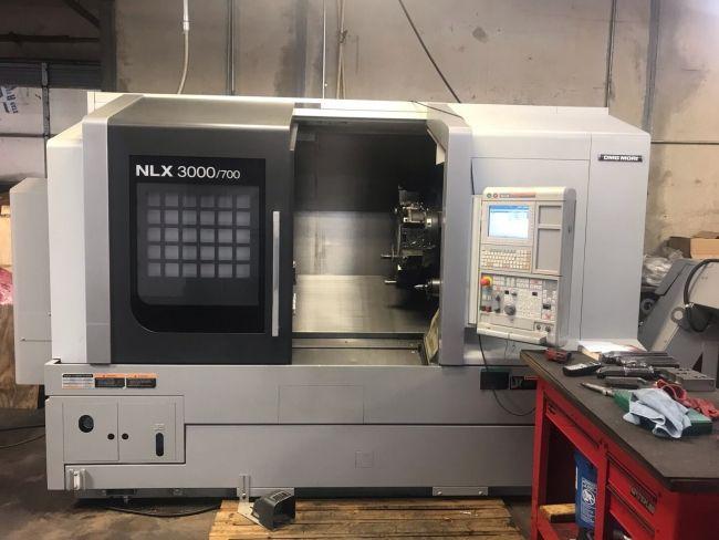 2 Mori Seiki CNC Control 3000 RPM NLX-3000/700 2 Axis