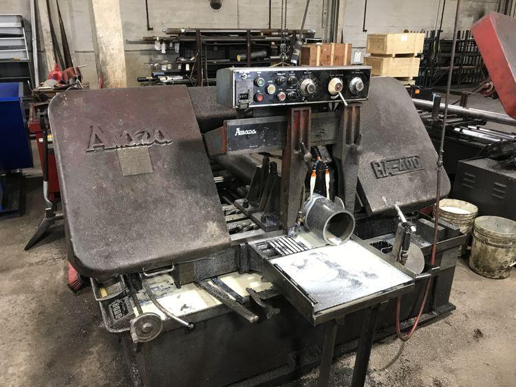 Amada HA400 Horizontal Band Saws Semi Automatic