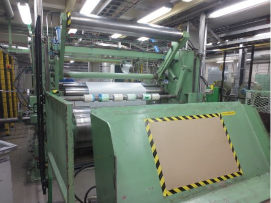 Others 2200mm 2 cylinders Slitter rewinder, modernized 1999 & 2010