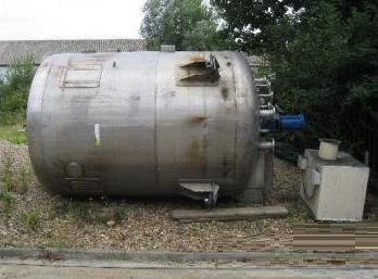 Others 10,000 Litre Stainless Steel Mixing Vessel
