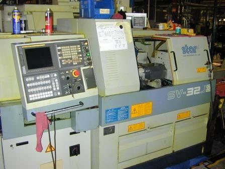 Star FANUC 18I-TB CONTROL Max. 7000 rpm SV32J II 2 Axis