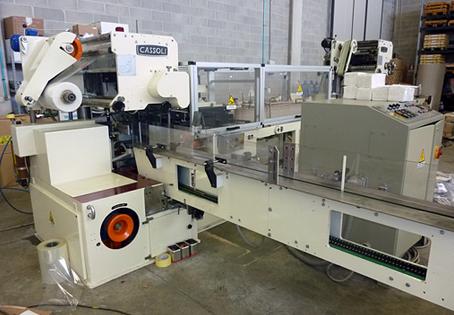 Cassoli PAC 340 wrapping machine