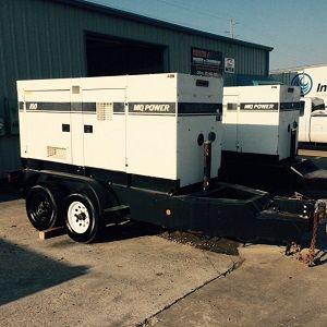 MQ Power DB-1101J/DB-1101J Portable Generator Set 300 kva