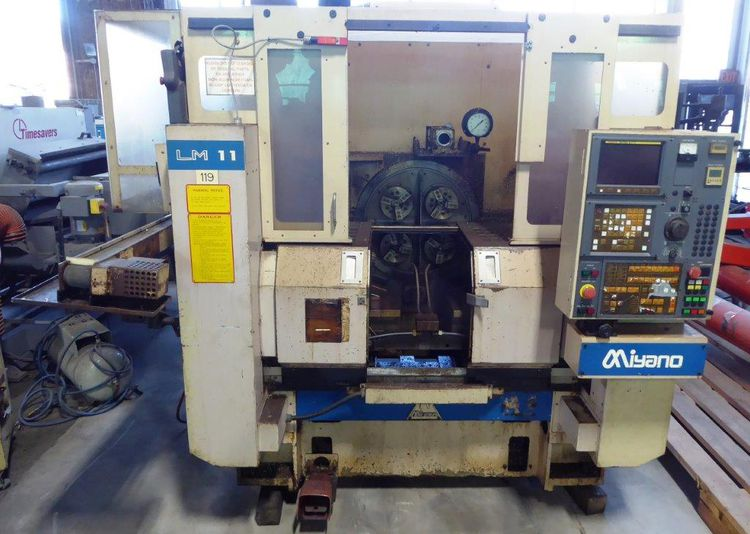 Miyano Fanuc 0-TT CNC Control Variable FOUR SPINDLE CNC TURNING CENTER  LM 11 2 Axis