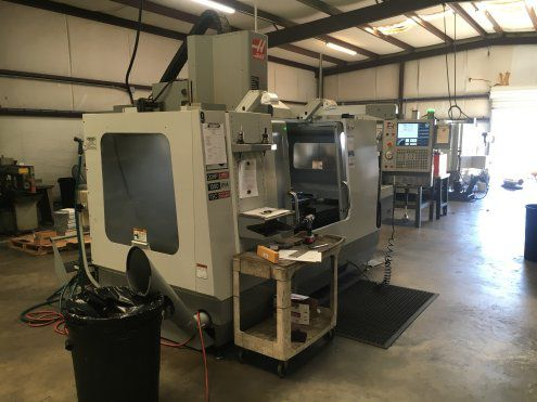 Others VF3 HAAS VF3 VERTICAL MACHINING CENTER W/PALLET CHANGER UMBRELLA STYLE TOOL CHANGER MFG:2006