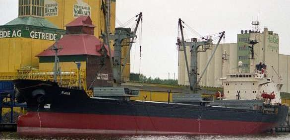Taihei Kogyo Handy Size Geared Bulk Carrier DWT 12,359 on 8.31m