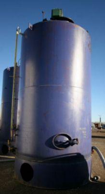 Others 5,000 Gallon Carbon Steel Vertical Chocolate Jacketed Tank Carbon Steel Vertical Chocolate Tank