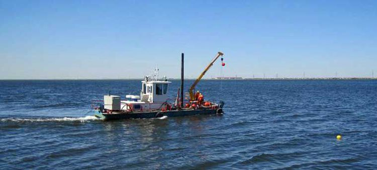480 hp Twin Screw Dismountable Truck Transportable Work Boat