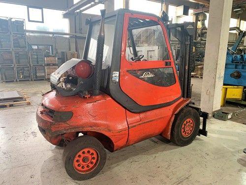 Linde H45T-04-600 Forklift Truck 4500 kg