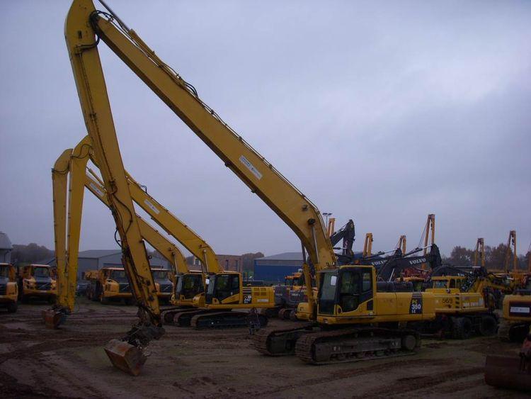 Komatsu PC 350 LC-8 SLR Crawler excavators