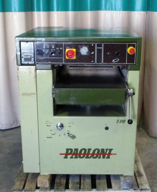 Paoloni S515, Planer