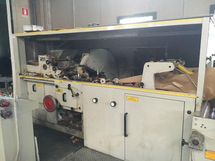 Castaldini Paper Bags Machine 4 col. flexo inline, with soundproof cabin