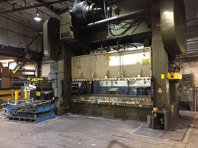 Brown & Boggs SS2-600-168-60E 600 Ton