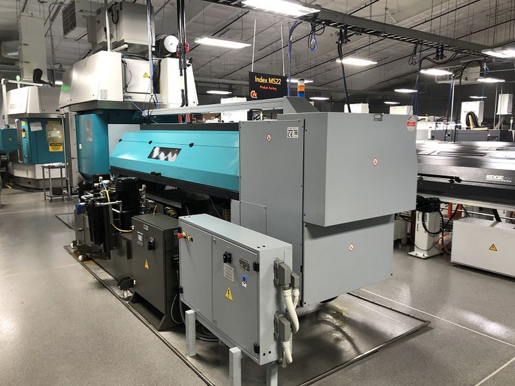 Index Seimens S840D SL CNC Control 10,000 RPM MS 22 SIX SPINDLE CNC Screw Machine 2 Axis