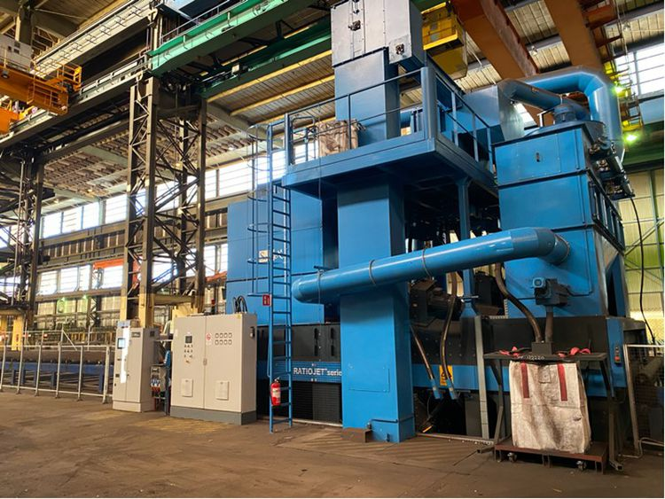 Clearance of metalworking machinery and tools EWP Windtower Production, Enercon