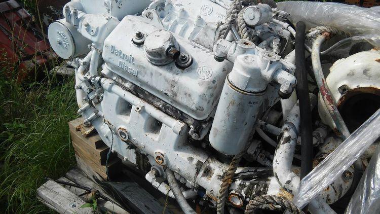 3 Detroit 6v-53TI Diesel marine engines,