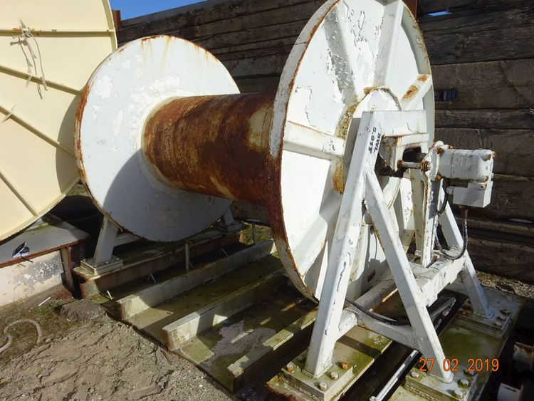 Odim Storage Drum High Pressure Winch & Netdrums