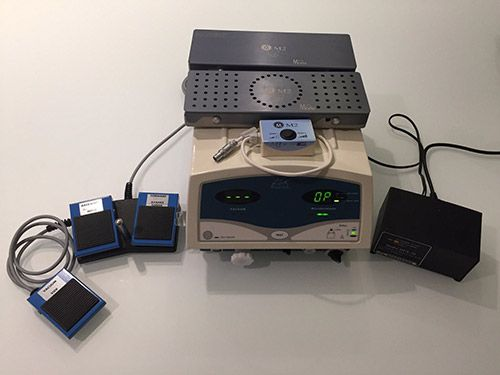 Moria M2 Microkeratome System w Evolution 2 Console, M2 Metal Head & M2 Rings