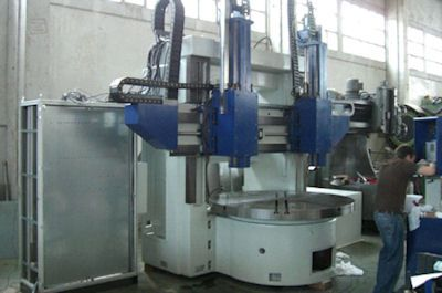 Omba Dia max. 1800 - CNC Vertical turret borer double column