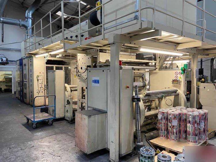 Carint CYBERFLEX 1708, Flexo central drum printing press 8 1220 mm
