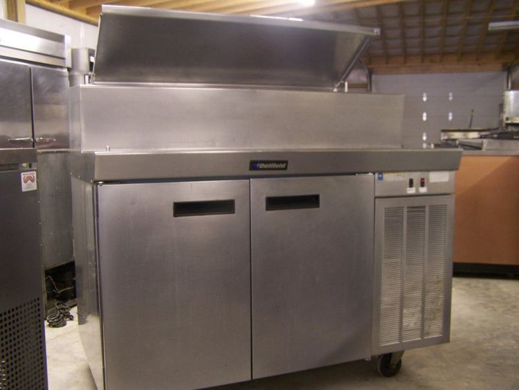 Delfield 50-Inch Double-Door Pizza Prep Unit