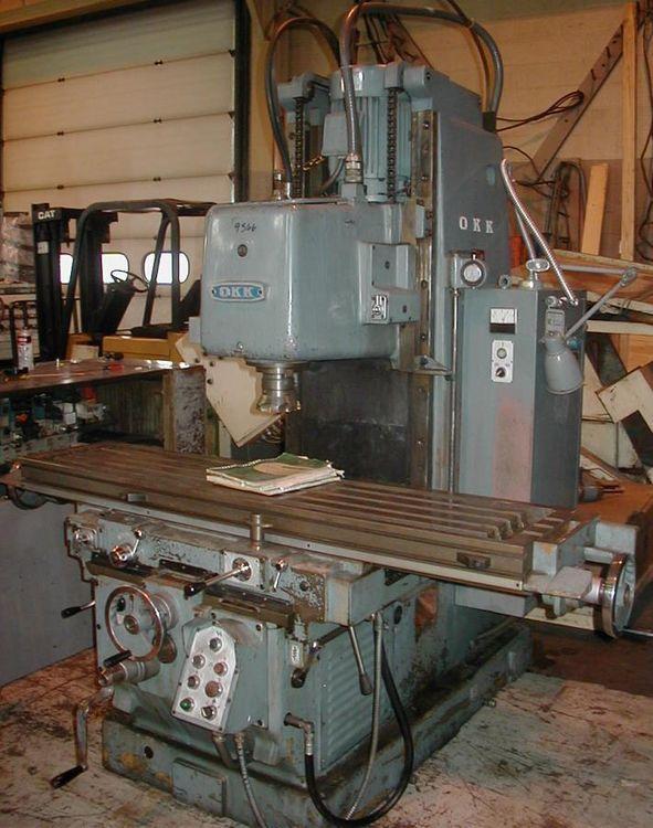 OKK MH-3VII Milling Machine Max. 1,600 rpm