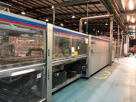 Heuft, KHS CANING LINE FOR SOFTDRINKS