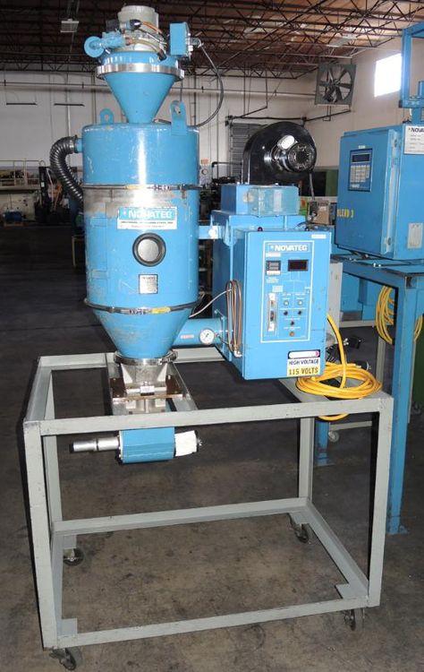 Novatec MD-15, Dehumidifying Material Dryer