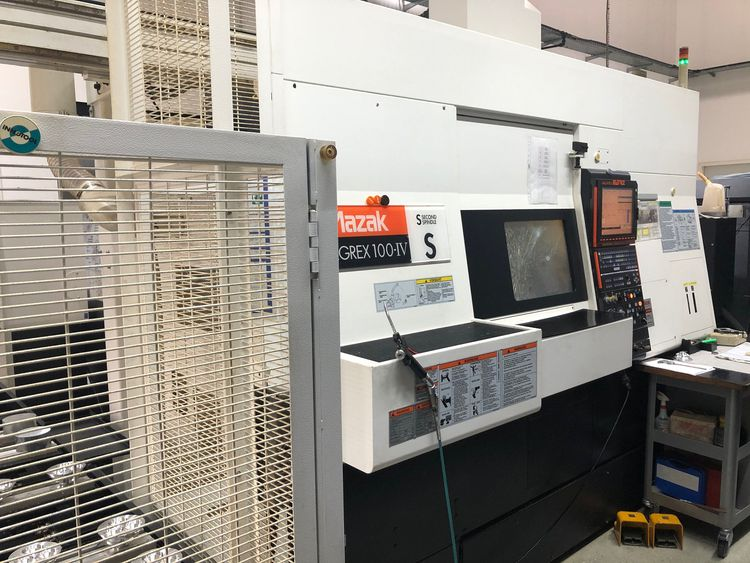 Mazak Mazatrol Matrix control 6000 rpm INTEGREX 100-IVS + GL50F 2 Axis