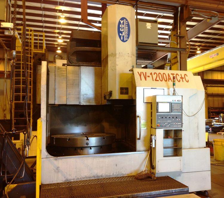 You Ji YV-1200 ATC+C Single Column CNC Vertical Boring & Turning Mill