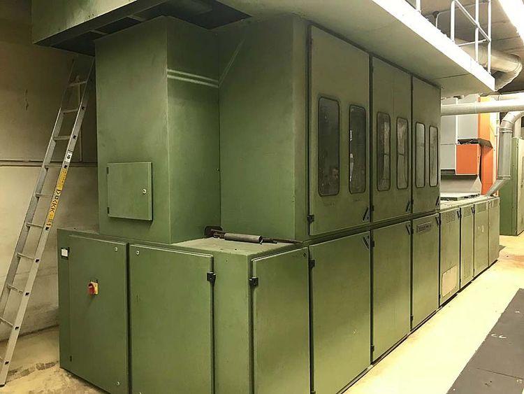 Trützschler MP-6, CVT 4 Fibre opening and blending line