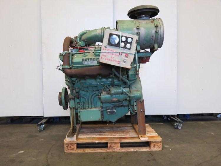 Detroit DIESEL 8V-92TA Diesel Marine Engine