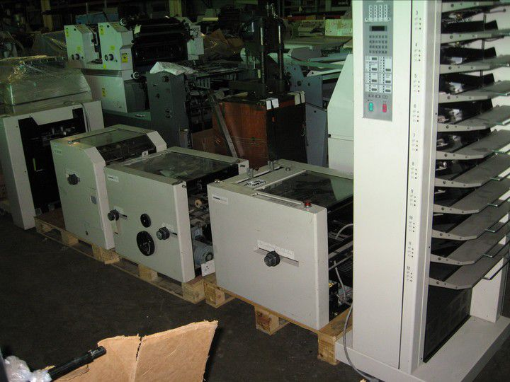 Duplo DC 1200H BOOKLET MAKING SYSTEM, Collator