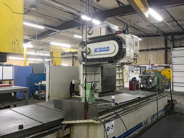 Komo TRAVELING COLUMN CNC VERTICAL MILLING MACHINE  160/50 3 Axis