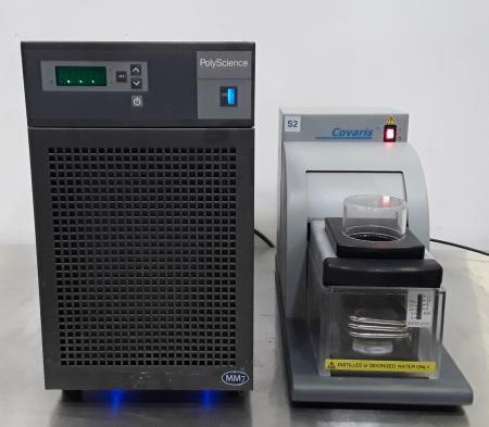 Covaris S2, PolyScience MM7 Ultrasonicator w/PolyScience