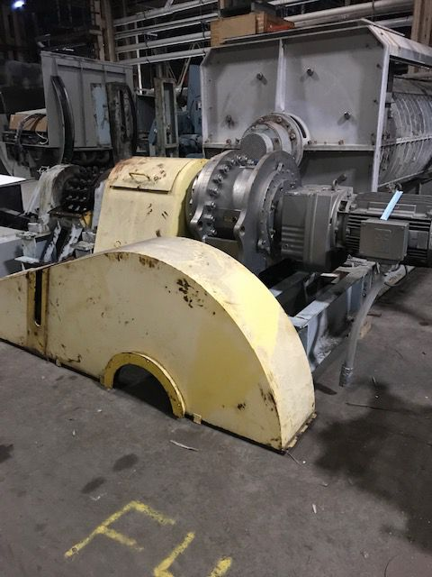 FKC SCREW PRESS with Twin screw thickener and floculation tank 90 TPD