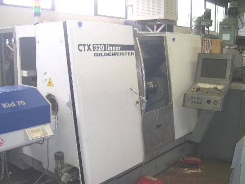 Gildemeister FANUC 180I 6000 U/min CTX 320 V6 2 Axis