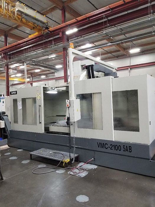 Mighty Viper VMC-2100-5AB 5 Axis